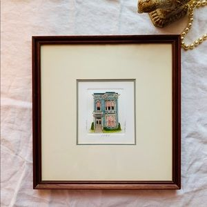 MARTHA HINSON framed limited edition signed print